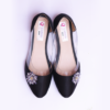 Women Black Ballerina Shoes