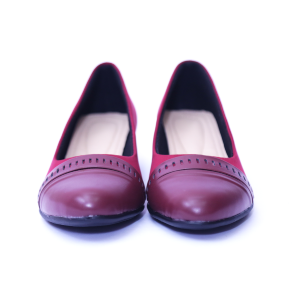 Maroon Belly Shoes