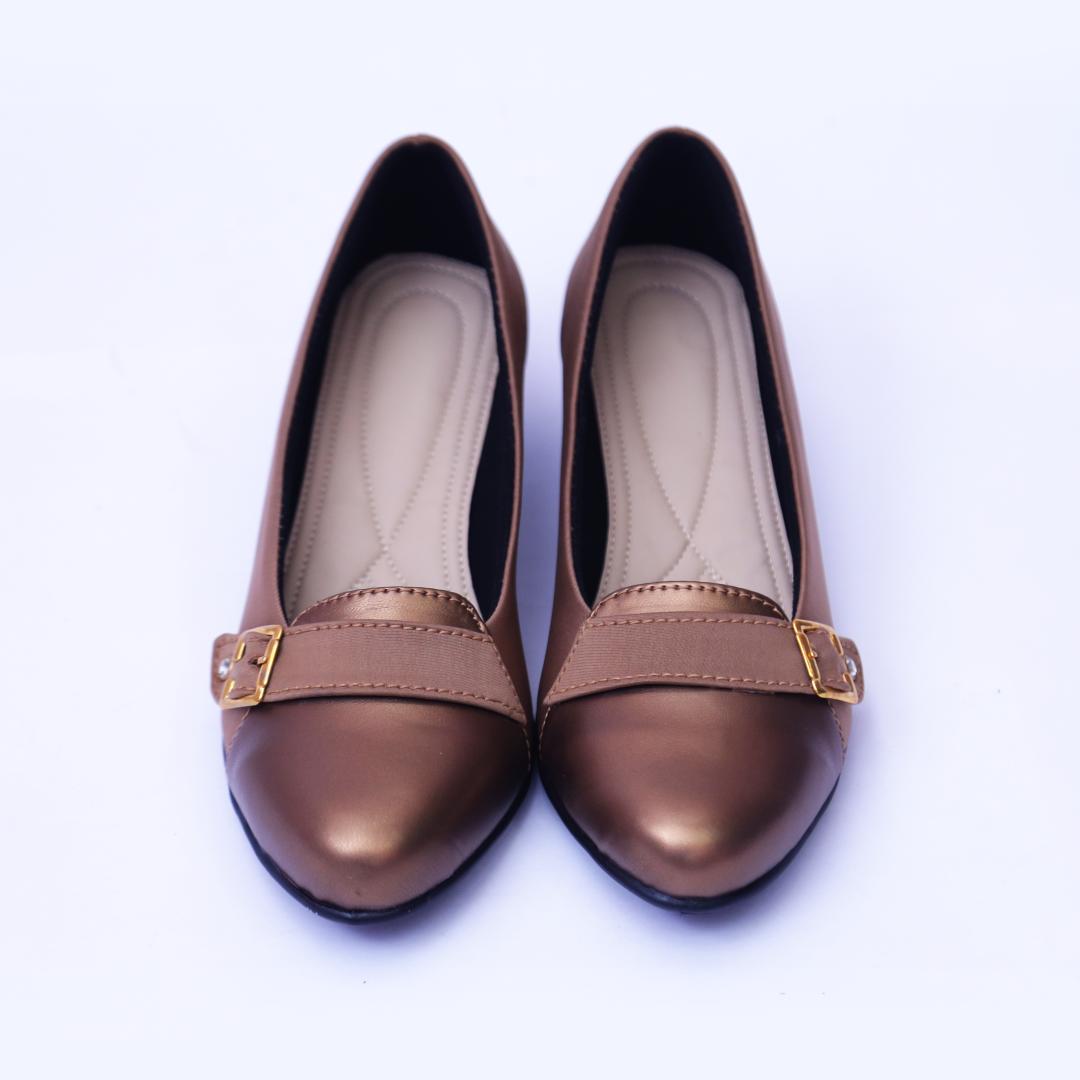 Golden Mat Belly Shoes